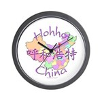 Hohhot China Wall Clock