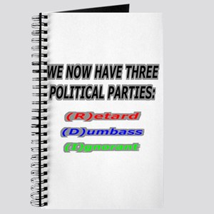 Our three political parties Journal