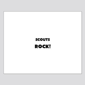 Scouts ROCK Small Poster