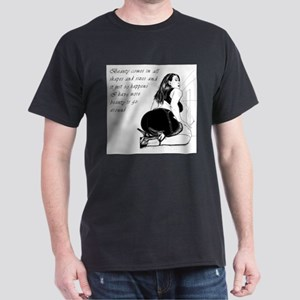 Beauty in all sizes Dark T-Shirt