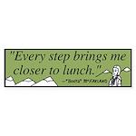 Lunch Bumper Sticker 10 pack