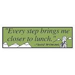 Lunch Bumper Sticker