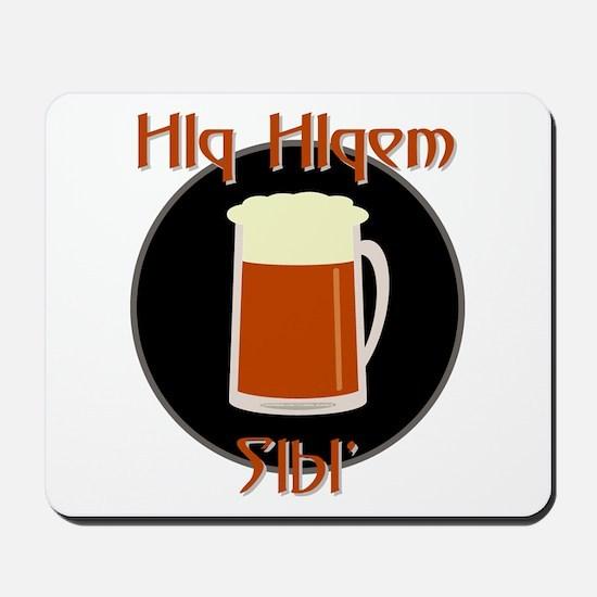 Bring Klingon Beer Mousepad
