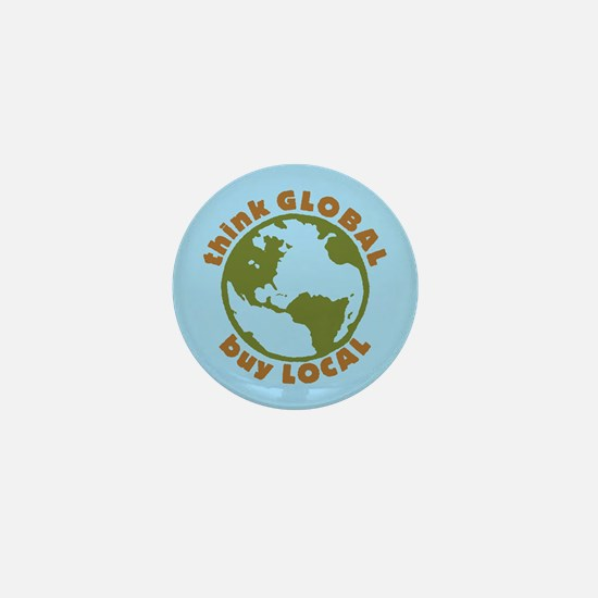 think GLOBAL Mini Button