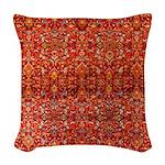 Hanbury Hall Woven Throw Pillow