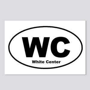 White Center Postcards (Package of 8)
