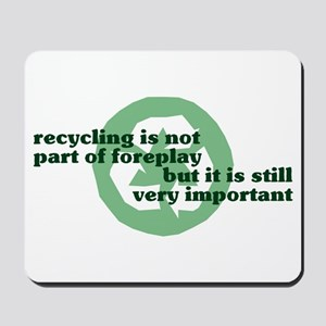 Recycling Mousepad