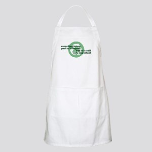 Recycling BBQ Apron