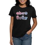 PinkBlue SIGN BABY SQ Women's Dark T-Shirt