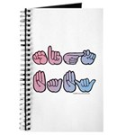 PinkBlue SIGN BABY SQ Journal