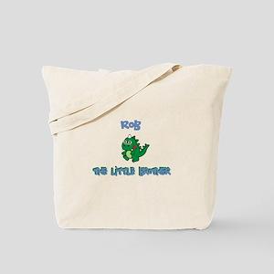 Rob - Dinosaur Brother Tote Bag