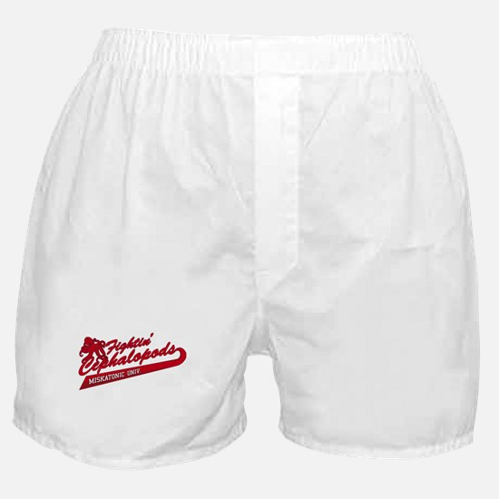 Miskatonic Fightin' Cephalopods Boxer Shorts