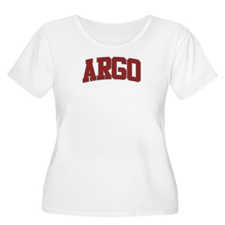 ARGO Design Women's Plus Size Scoop Neck T-Shirt