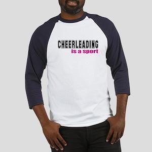 Cheerleading is a Sport Baseball Jersey