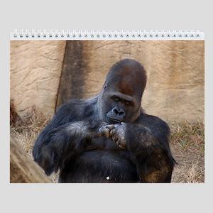 Gorilla 002 Wall Calendar