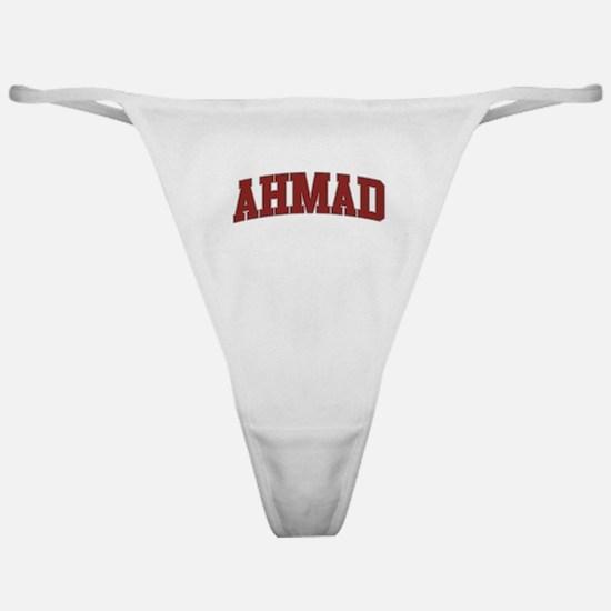 AHMAD Design Classic Thong