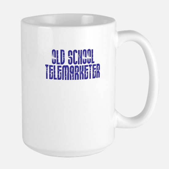 Old School Telemarketer Large Mug