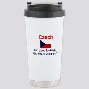 Good Looking Czech Stainless Steel Travel Mug