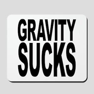 Gravity Sucks Mousepad