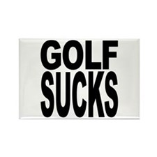 Golf Sucks Rectangle Magnet