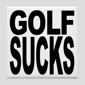 Golf Sucks Tile Coaster