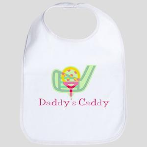 Girls Daddy's Caddy Golf Bib