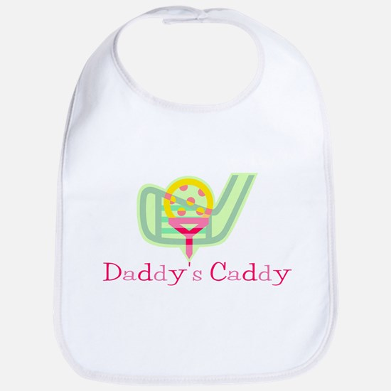 Girls Daddy's Caddy Golf Bib