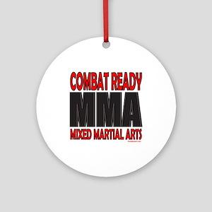 COMBAT READY MMA Ornament (Round)