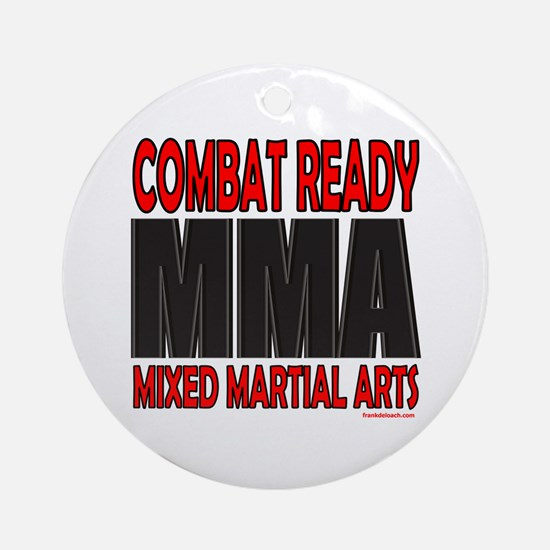 COMBAT READY MMA Ornament (Round)