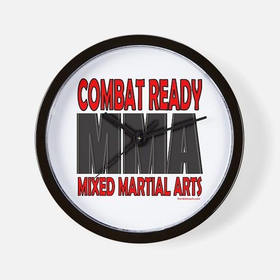 COMBAT READY MMA Wall Clock
