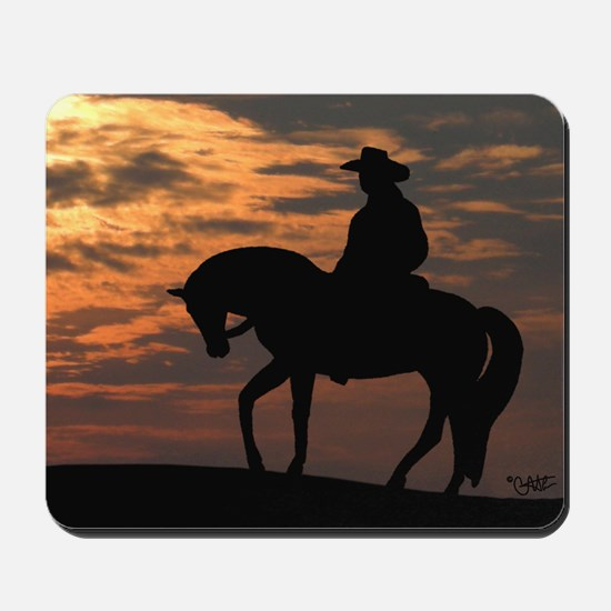 Sunset Rider - Mousepad