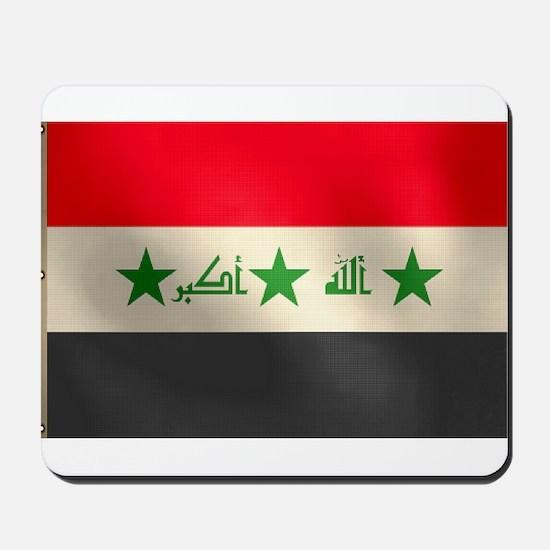 Iraqi Flag Mousepad