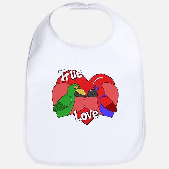 True Love Eclectus Bib