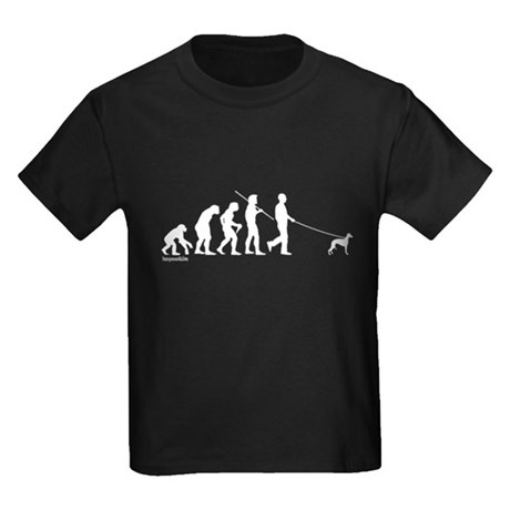 Whippet Evolution Kids Dark T-Shirt
