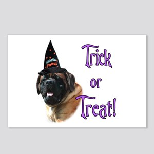 Mastiff apricot Trick Postcards (Package of 8)