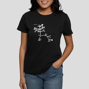 Darwin's Tree of Life Women's Dark T-Shirt