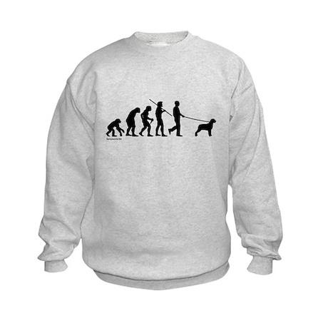 Rottweiler Evolution Kids Sweatshirt