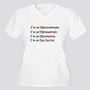 spell optometrist Women's Plus Size V-Neck T-Shirt