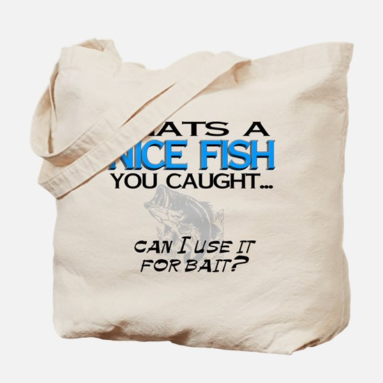 Nice Fish Tote Bag