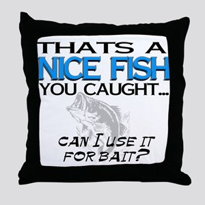 Nice Fish Throw Pillow