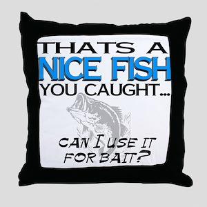 Nice Fish Throw Pillow