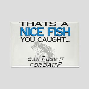 Nice Fish Rectangle Magnet