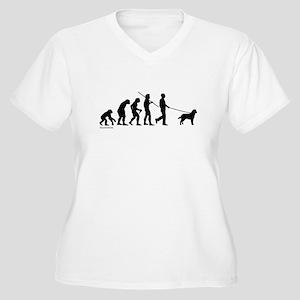 Lab Evolution Women's Plus Size V-Neck T-Shirt