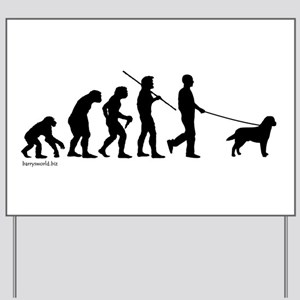 Lab Evolution Yard Sign