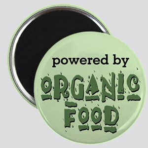 Powered By Organic Food Magnet