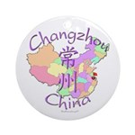 Changzhou China Ornament (Round)