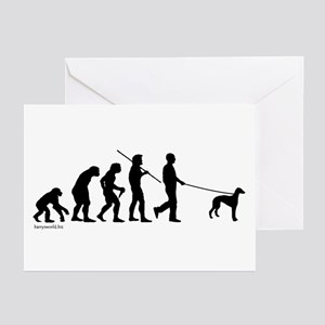 Greyhound Evolution Greeting Cards (Pk of 20)