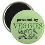 Powered By Veggies Magnet