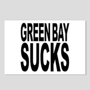 Green Bay Sucks Postcards (Package of 8)