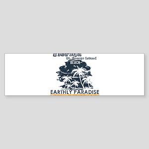 Florida - St. George Island Beach Bumper Sticker